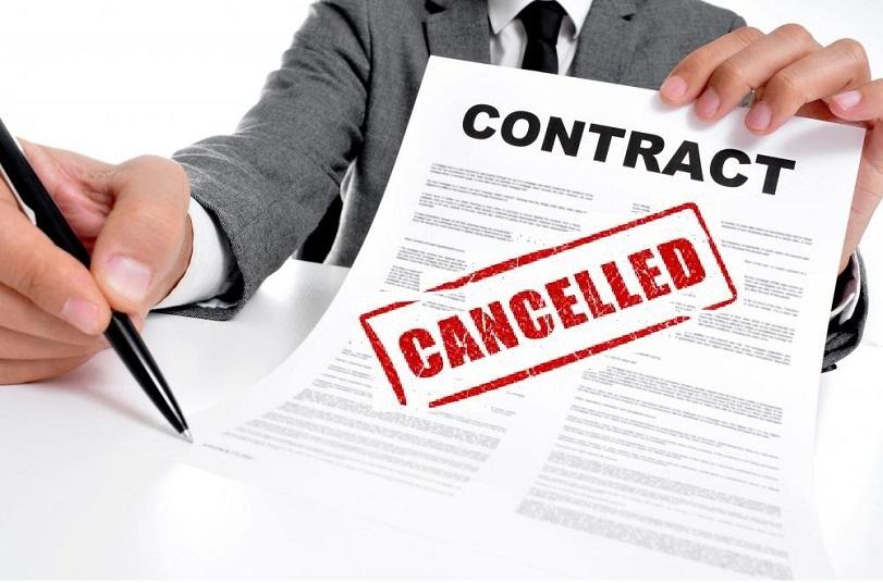 Tìm hiểu mẫu thông báo chấm dứt hợp đồng thuê văn phòng