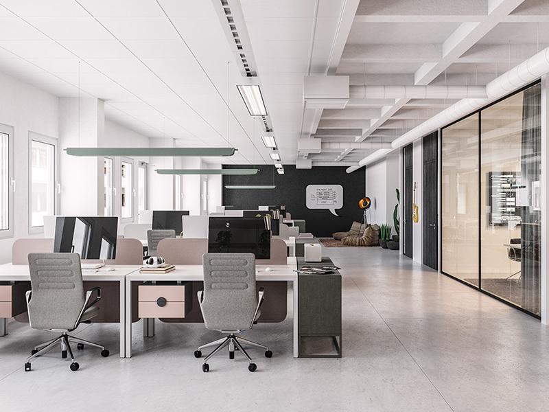 Nhận định về kiểu thiết kế không gian văn phòng mở