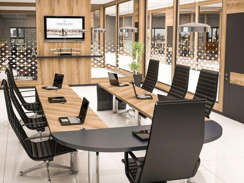 Ứng dụng gỗ cho các mẫu thiết kế văn phòng sáng tạo