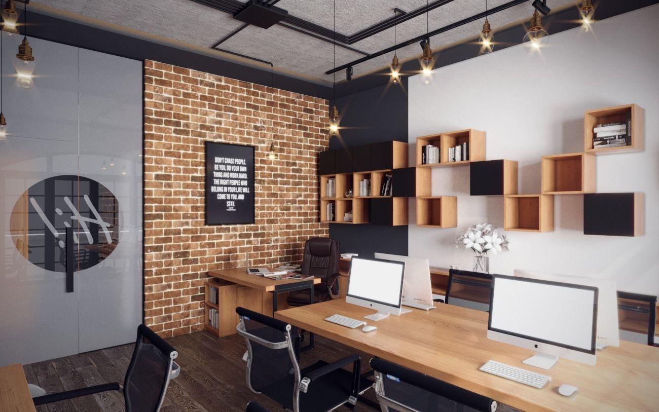 Thiết kế nội thất văn phòng theo kiểu công nghiệp