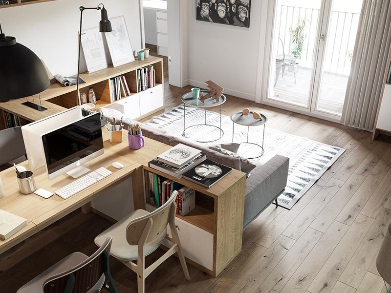Phương pháp thiết kế văn phòng 20m2 cực đẹp từ các chuyên gia