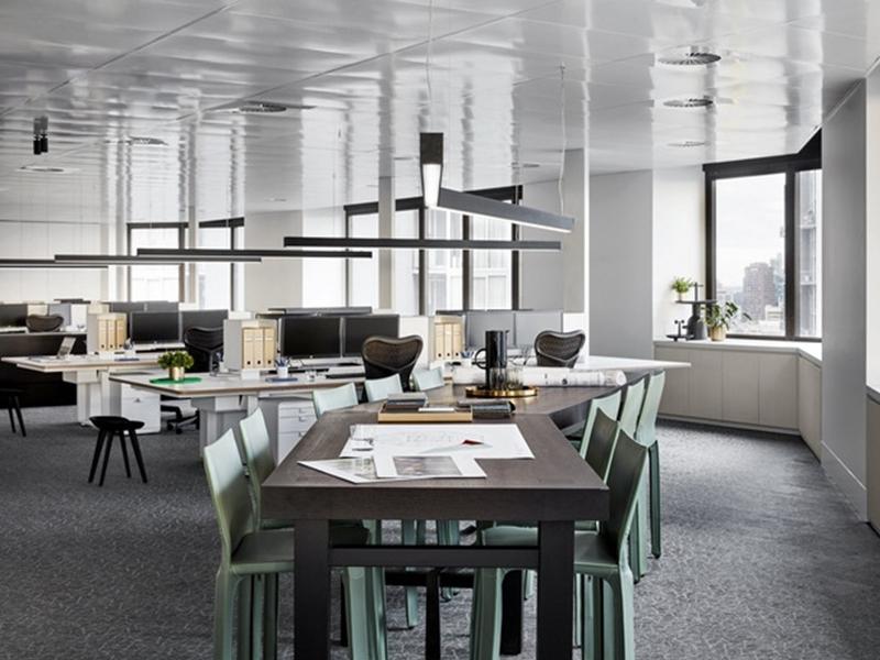 Lựa chọn và bố trí ánh sáng cho văn phòng làm việc hiện đại