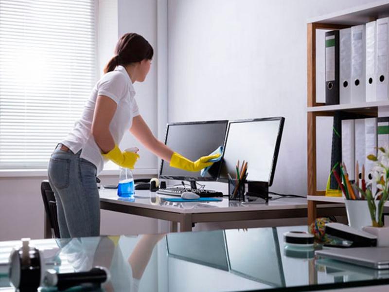 Muôn kiểu giữ gìn vệ sinh cho văn phòng làm việc hiện đại