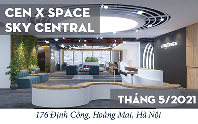 Ra mắt Cen X Space Sky Central
